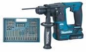 Makita HR166DZ in de koffer